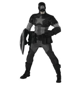Marvel X ThreeA Night Mission Captain America 1/6 Scale Figure