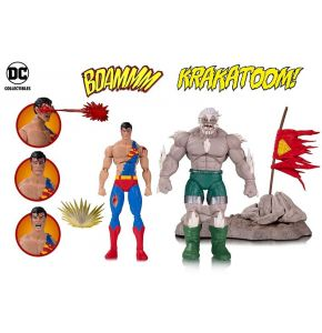 DC Icons Doomsday Superman Death Superman Deluxe Figure 2-Pk
