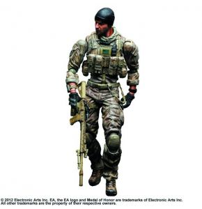 Medal of Honor Warfighter Play Arts Kai Preacher Figure