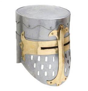 Medieval Great Helm Helmet Replica