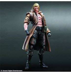 Metal Gear Solid Play Arts Kai Liquid Snake Figure