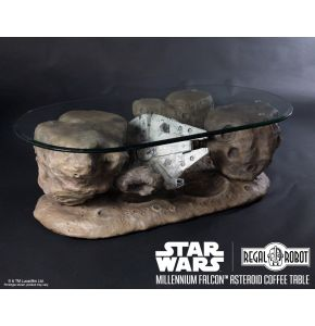 Star Wars Millennium Falcon Asteroid Coffee Table