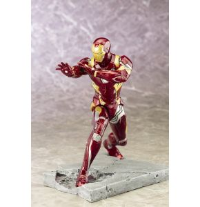 Captain America Civil War Iron Man Mark 46 ArtFX+ Statue