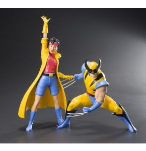 Marvel Universe X-Men '92 Wolverine and Jubilee ArtFX+ 2-Pack