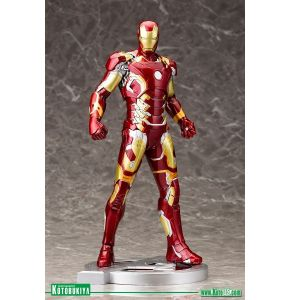 Avengers Age Of Ultron Iron Man Mark XLIII ArtFx Statue