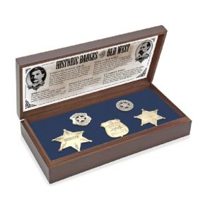 Old West Badge Boxed Set Collection
