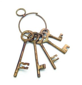 Old West Brass Jailer's Keys Replicas