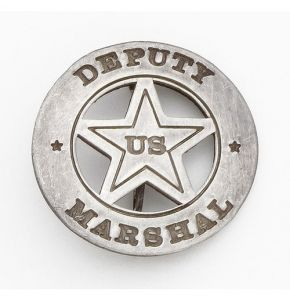 US Deputy Marshal Circle Badge Replica