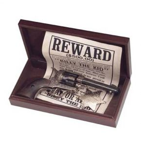 Old West Wooden Presentation Box Only