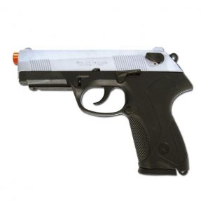 P4 Storm 9mm Front Firing Nickel Blank Gun