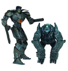 Pacific Rim Gipsy Danger Vs Leatherback Action Figure 2-Pack