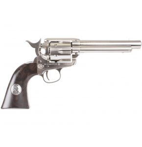 "John Wayne ""the Duke"" Colt CO2 Pellet Nickel Revolver"