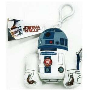 Star Wars R2-D2 4in Talking Clip-On Plush