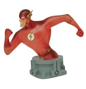 Justice League Animated Flash Speed Force SDCC 2017 Exclusive Bust