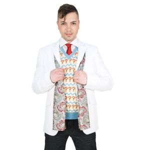 Abbyshot - Dr. Who Seventh Doctor's Silk Scarf