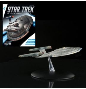 Star Trek Starships Fig Coll Mag #4 Enterprise NX-01