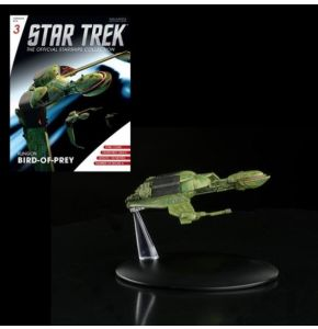 Star Trek Starships Fig Coll Mag #3 Klingon Bird Of Prey