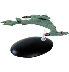 Star Trek Starships Fig Coll Mag #20 Klingon VOr'cha Class