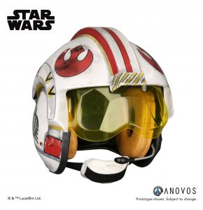Anovos Star Wars Luke Skywalker Rebel Pilot Helmet Accessory
