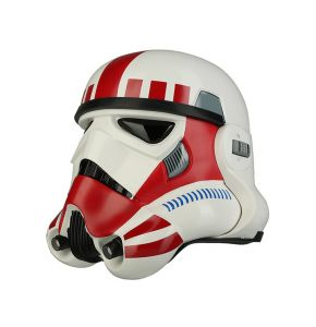 Star Wars Imperial Stormtrooper TK Helmet Shock Red Trooper Helmet
