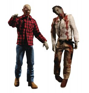 ONE-12 Collective Dawn Of Dead Fly Boy And Plaid Zombie
