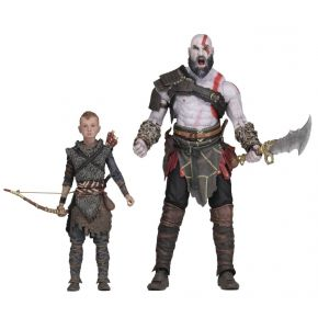 God of War Ultimate Kratos & Atreus Two-Pack - Action Figure