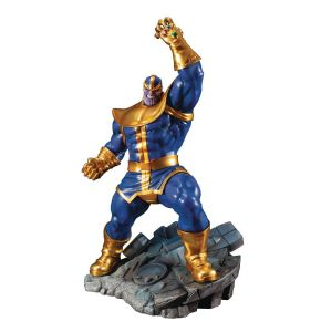 Marvel Comics Avengers Series Arttificial + Thanos Statue