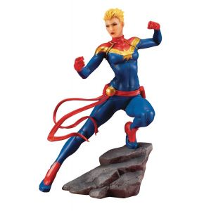 Marvel Comics Avengers Series Captain Marvel Artificial Statue
