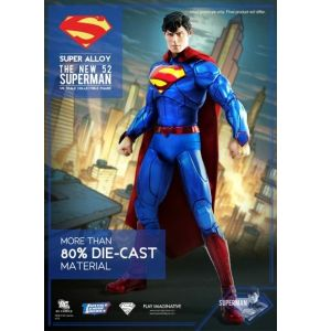 Super Alloy New 52 Justice League Superman Figure