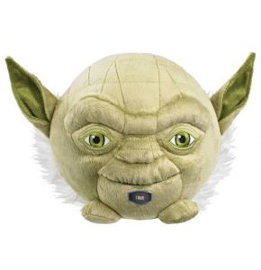 Star Wars Yoda 7In Talking Plush Ball