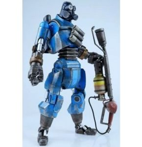 Team Fortress 2 Robot Pyro Team Blu Version Figure