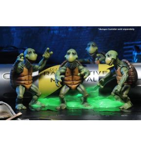 TMNT (1990 Movie) Baby Turtles 1/4 Scale Action Figure Set