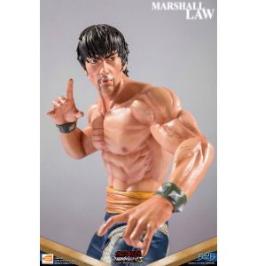 Tekken 5 Dark Resurrection Marshall Law Statue