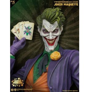 DC Comics Super Powers Collection The Joker Maquette