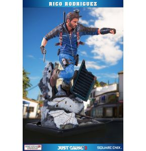 Just Cause 3 Rico Rodriguez Resin Statue