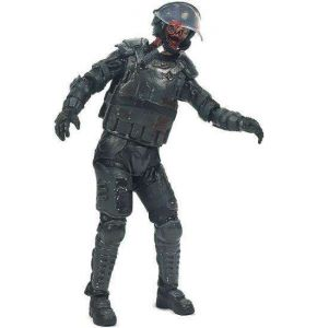 The Walking Dead TV Series 4 Riot Gear Zombie Action Figure