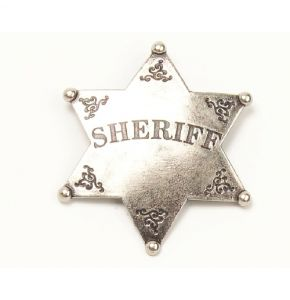 Old West Sheriff Badge Replica