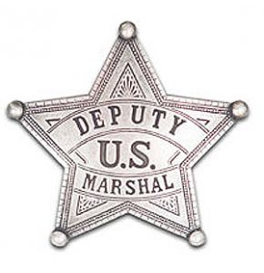 Western US Deputy Marshal Badge Replica