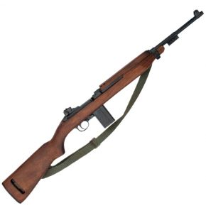 WW II M1 Carbine Non-Firing Rifle Replica w Sling