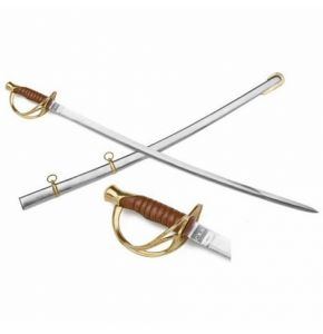 Civil War CSA Officer's Sword with Scabbard