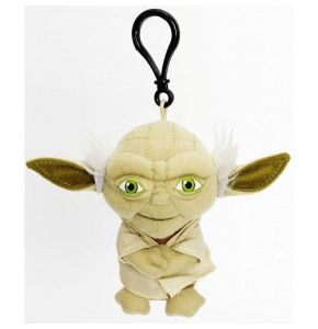 Star Wars Yoda 4in Talking Clip-On Plush