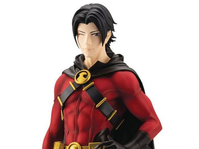 DC COMICS RED ROBIN IKEMEN STATUE NEW IN BOX