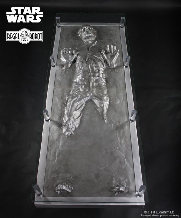 Star Wars Han Solo Carbonite Coffee Table
