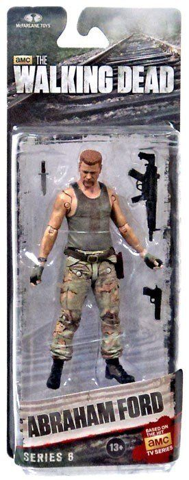 THE WALKING DEAD SERIE 6 ABRAHAM FORD Action Figure
